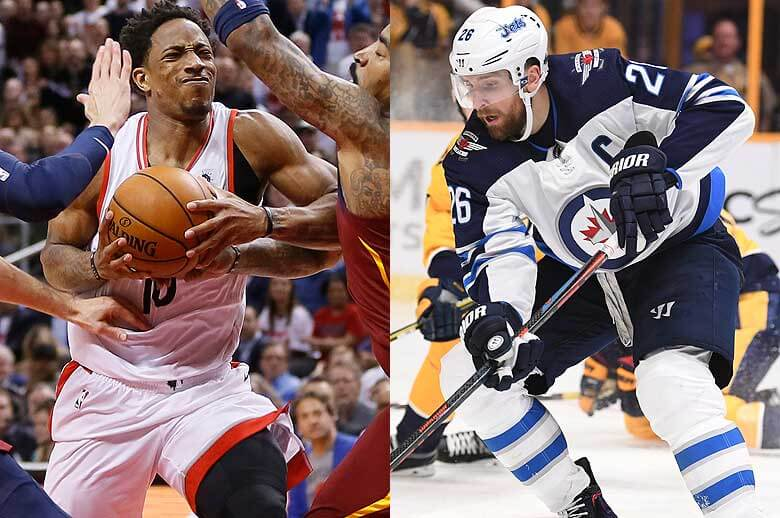 sharps and squares split on these nba and nhl playoff betting odds