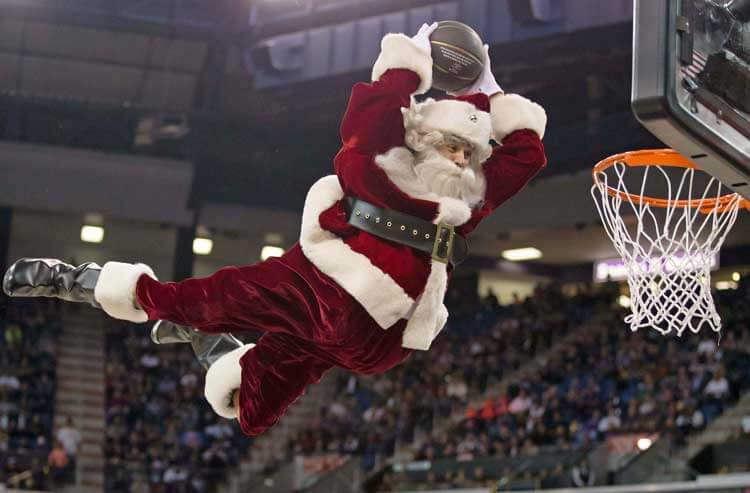Sportsbooks deliver an early holiday gift with NBA Christmas Day odds