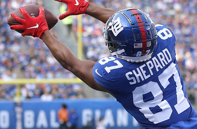 Engram injury presents juicy prop pick, and today's NFL odds and analysis