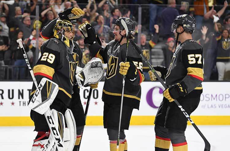NHL Stanley Cup Final 4-Check: Best ways to bet Captials-Golden Knights Game 5 odds