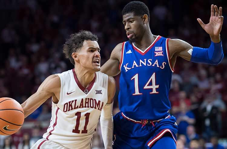 NCAAB Game of the Day: Oklahoma at Kansas betting preview and odds