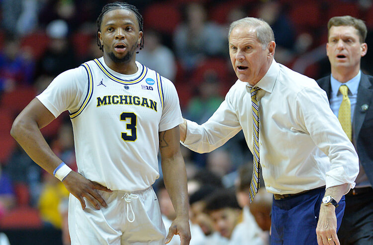 Early bettors hit Michigan odds for March Madness clash vs. Texas Tech