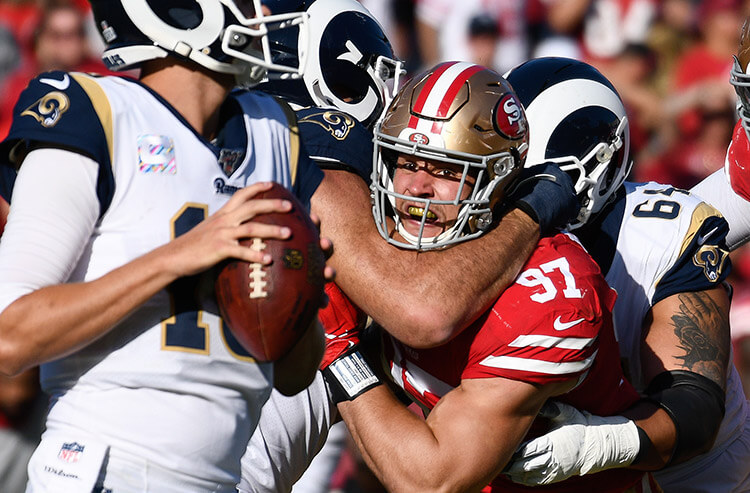 Rams Vs 49ers Nfl Betting Picks And Predictions Fade Goff