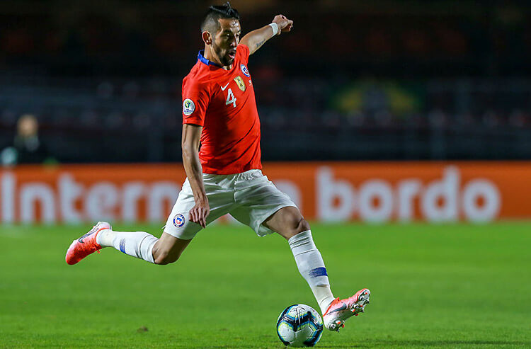 Soccer odds, free picks, and betting predictions: Chile needs big