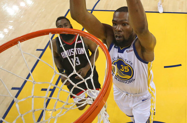 3742eff41a12 Durant s injury drops the Warriors  NBA title betting odds to a season low