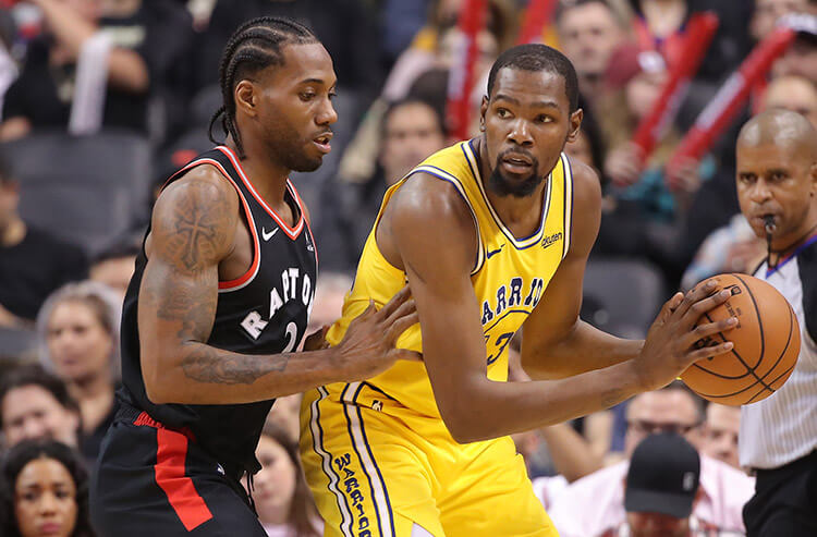 Warriors still tops in NBA futures odds, but Raptors and Bucks battle it out in the East