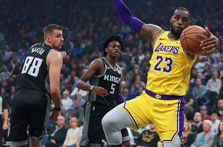 """Sacramento to take """"King's"""" crown in rivalry vs Lakers, and today's NBA odds and best bets"""