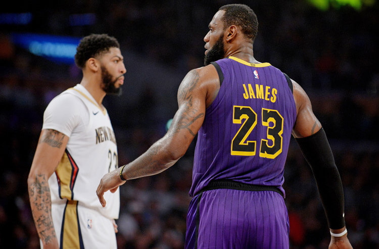 Lakers land Anthony Davis, confirm what Vegas NBA ...