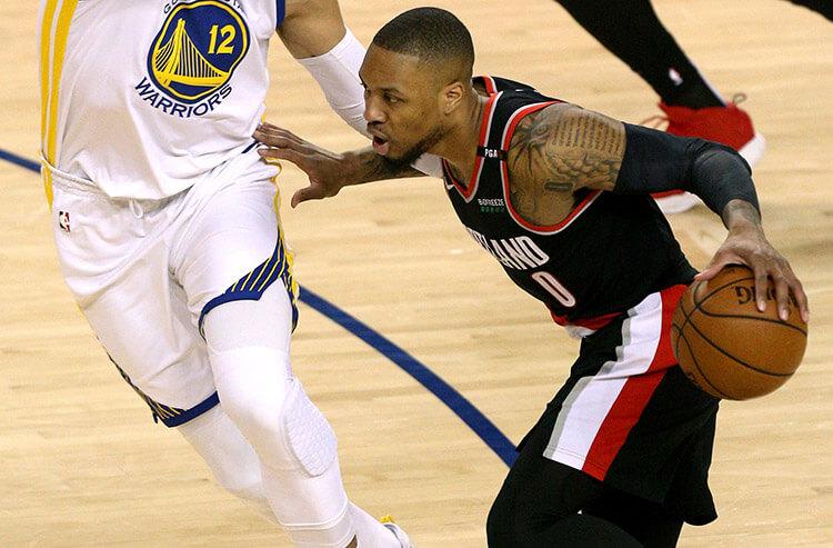 Trail Blazers vs Warriors NBA betting picks and predictions