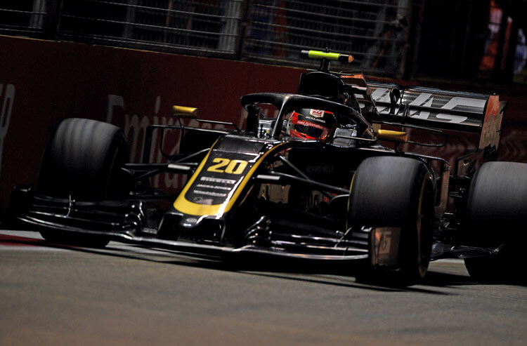 Kevin Magnussen wins fastest lap at the 2019 Singapore Grand Prix as a 1000/1 betting long shot.