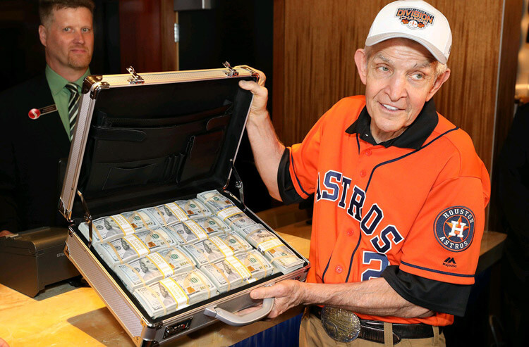 """Even with millions riding on MLB World Series odds, """"Mattress Mack"""" is all business"""