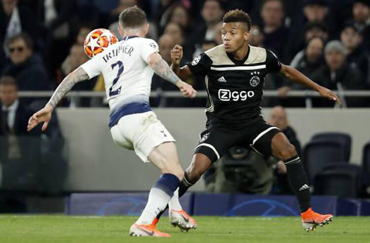 Ajax look to sweep reeling Tottenham and this week's soccer odds and