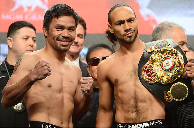manny pacquiao betting