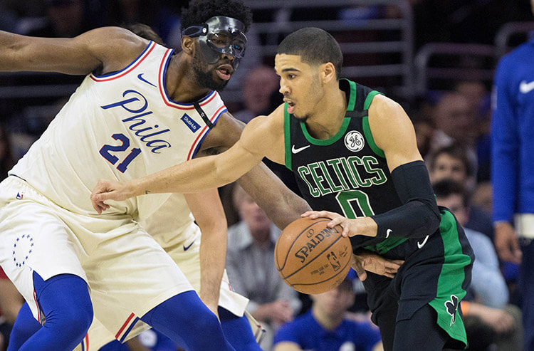 Today's biggest bets and line moves: Bettors hammer 76ers in NBA clash vs. Celtics