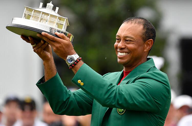 Sportsbooks eye springboard wagering effect from Woods' Masters win