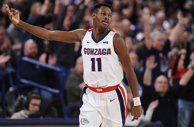 March Madness title odds: Gonzaga and Baylor co-favorites upon return