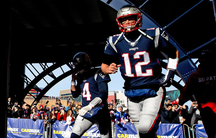 Brady and the Patriots were the greatest bet in sports history