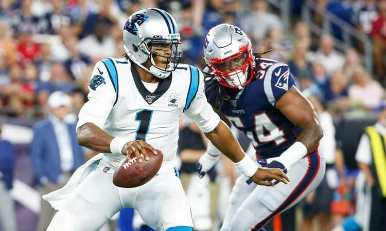 NFL Comeback Player of the Year odds: Cam Newton trending up