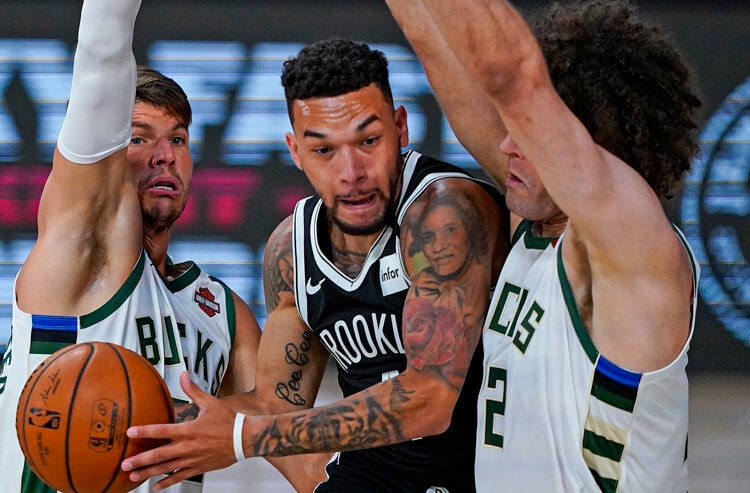Nets' long-shot win over Bucks cashes in big for NBA bettors