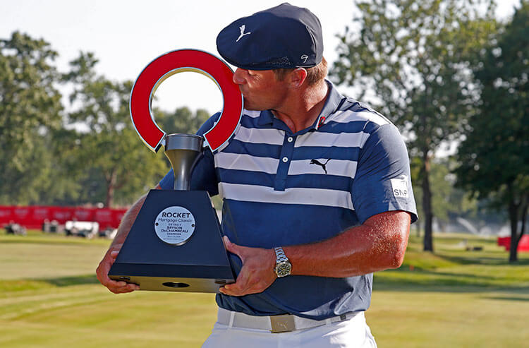 PGA Rocket Mortgage Classic odds:  DeChambeau wins as favorite