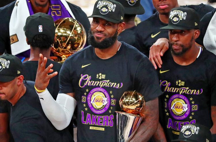How To Bet - NBA Championship odds: Lakers Favored Again
