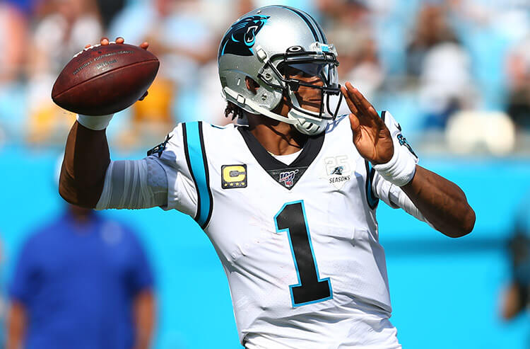 NFL betting odds on the move after Patriots sign Cam Newton