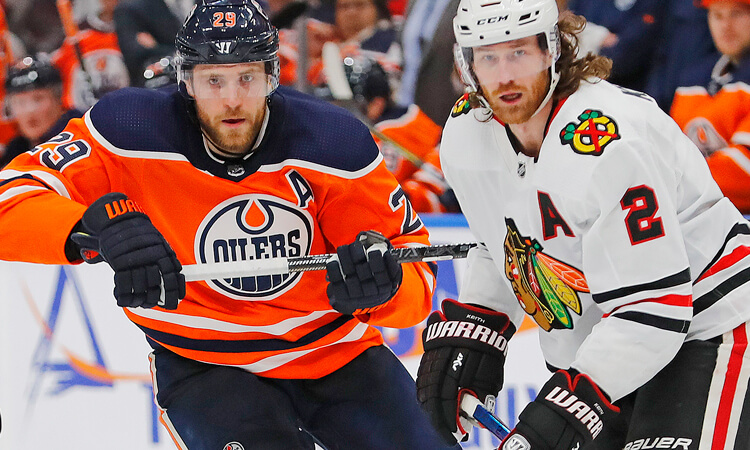 Oilers vs Blackhawks Picks and Predictions for NHL Qualifying Round