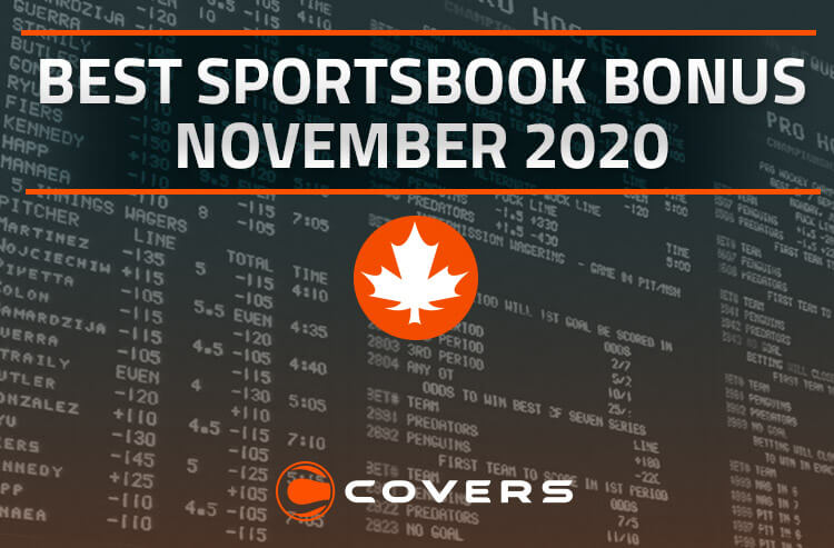 Best Sportsbook Bonus in Canada for November 2020