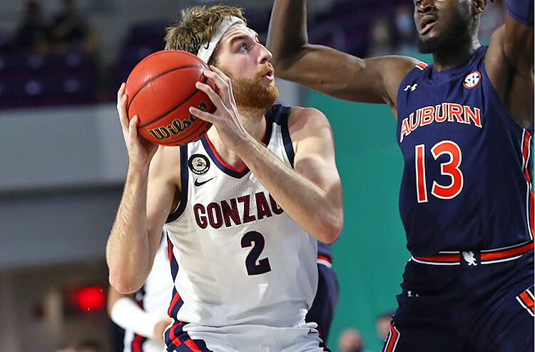 How To Bet - West Virginia vs Gonzaga Picks and Predictions December 2