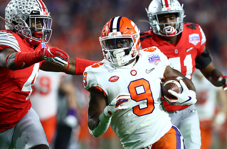 2021 College Football National Championship Odds