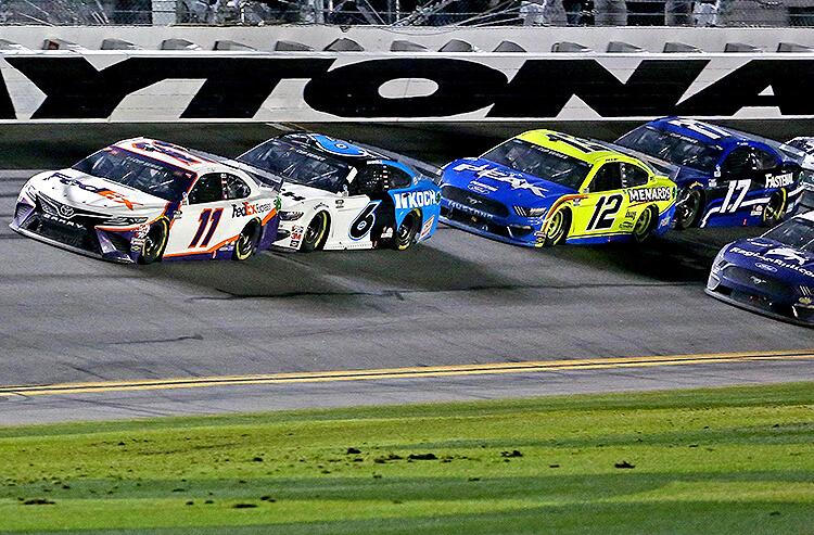 Daytona 500 Action Report: Big Money Down on Denny Hamlin