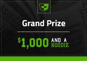 $1,000 + Hoodie